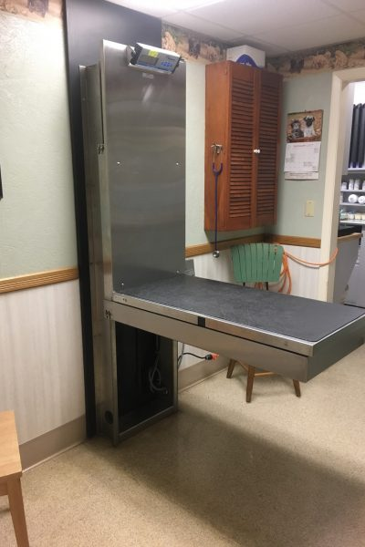 Dog Exam Room with Lift Table